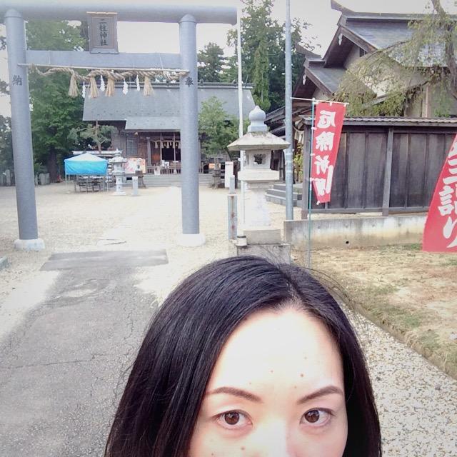 恋愛パワースポット二柱神社に行った佐藤愛