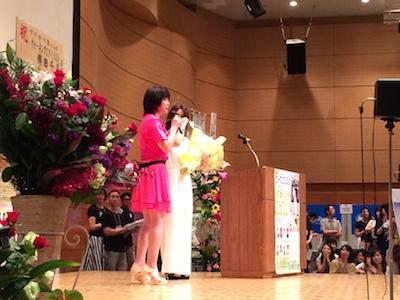 ウーマンフェスタ2015、薫さんと律子さん