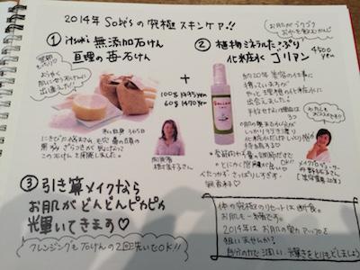 Sobe's Cafe美人手帖、樹さんと拓子さん