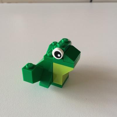 LEGOクラシック・カエル