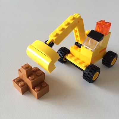 LEGOクラシック・ショベルカー