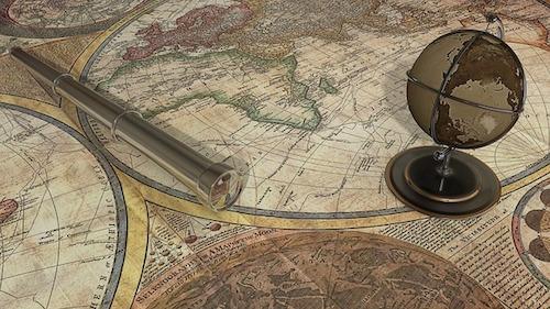 起業準備を進める地図